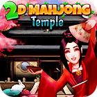 2D Mahjong Temple oyunu