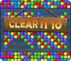 ClearIt 10 oyunu