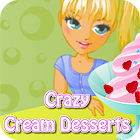 Crazy Cream Desserts oyunu
