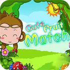 Cute Fruit Match oyunu