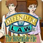 Defenders of Law: The Rosendale File oyunu