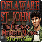 Delaware St. John: The Curse of Midnight Manor Strategy Guide oyunu
