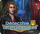 Detective Investigations oyunu