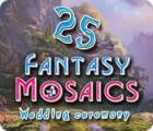 Fantasy Mosaics 25: Wedding Ceremony oyunu