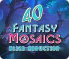 Fantasy Mosaics 40: Alien Abduction oyunu