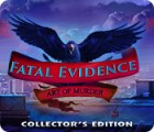 Fatal Evidence: Art of Murder Collector's Edition oyunu
