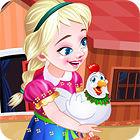 Frozen. Anna Poultry Care oyunu