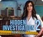 Hidden Investigation 2: Homicide oyunu