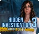 Hidden Investigation 3: Crime Files oyunu
