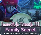 Incredible Dracula III: Family Secret Collector's Edition oyunu