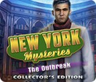 New York Mysteries: The Outbreak Collector's Edition oyunu