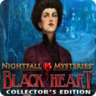 Nightfall Mysteries: Black Heart Collector's Edition oyunu