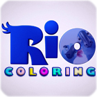 RIO Movie Coloring oyunu