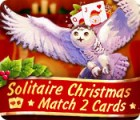 Solitaire Christmas Match 2 Cards oyunu