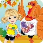 Thanksgiving Turkey Dress-Up oyunu