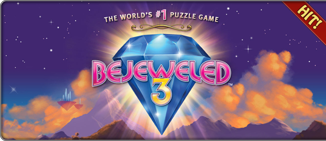 Exclusive oyunu Bejeweled 3