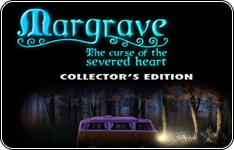 Premium oyunu Margrave: The Curse of the Severed Heart Collector's Edition