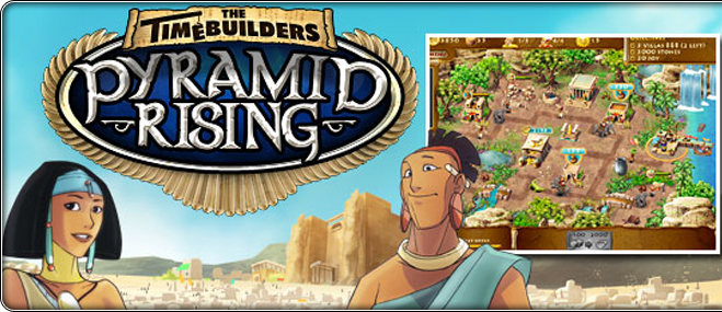 Exclusive oyunu The Timebuilders: Pyramid Rising
