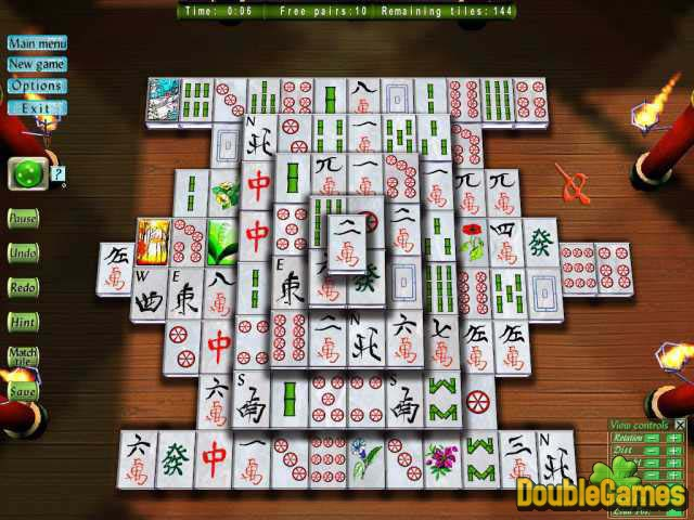 Free Download 3D Magic Mahjongg Screenshot 2