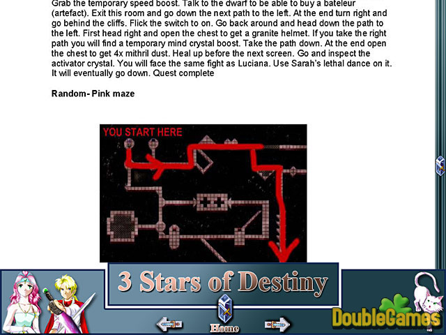 Free Download 3 Stars of Destiny Strategy Guide Screenshot 1