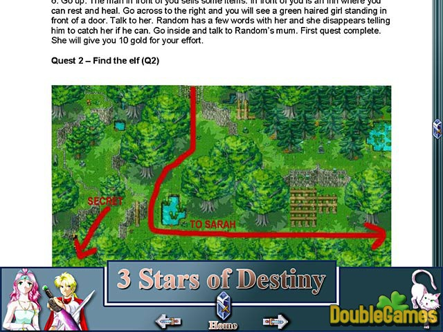 Free Download 3 Stars of Destiny Strategy Guide Screenshot 2