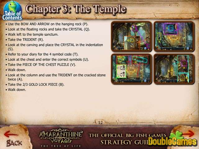 Free Download Amaranthine Voyage: The Tree of Life Strategy Guide Screenshot 3