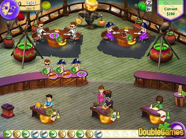 Free Download Amelie's Cafe: Halloween Screenshot 1