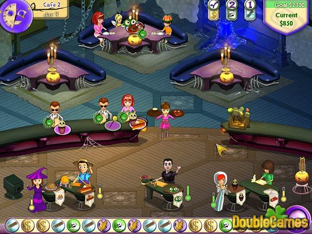 Free Download Amelie's Cafe: Halloween Screenshot 2