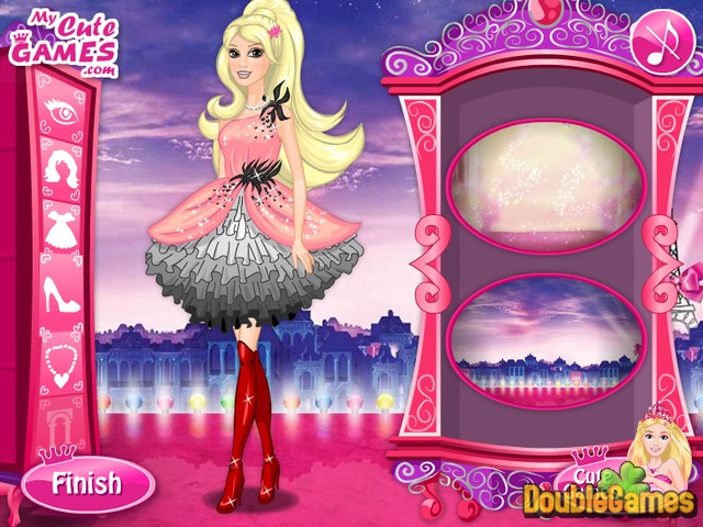 Free Download Barbie A Fashion Fairytale Screenshot 2
