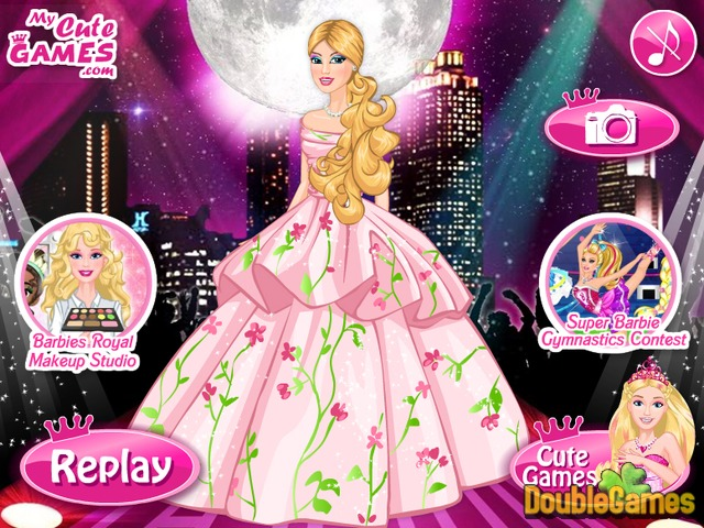 Free Download Barbie A Fashion Fairytale Screenshot 3