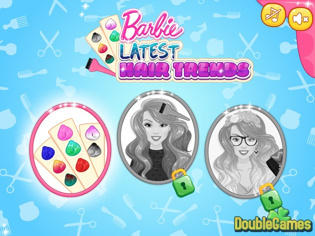 Free Download Barbie Latest Hair Trends Screenshot 1