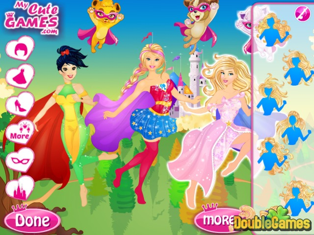 Free Download Barbie Super Princess Squad Screenshot 2