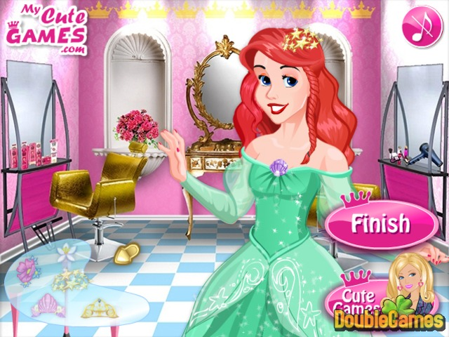 Free Download Barbie Princess Hair Salon Screenshot 3