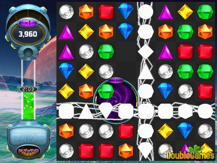 Free Download Bejeweled Twist Online Screenshot 3