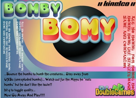 Free Download Bomby Bomy Screenshot 1