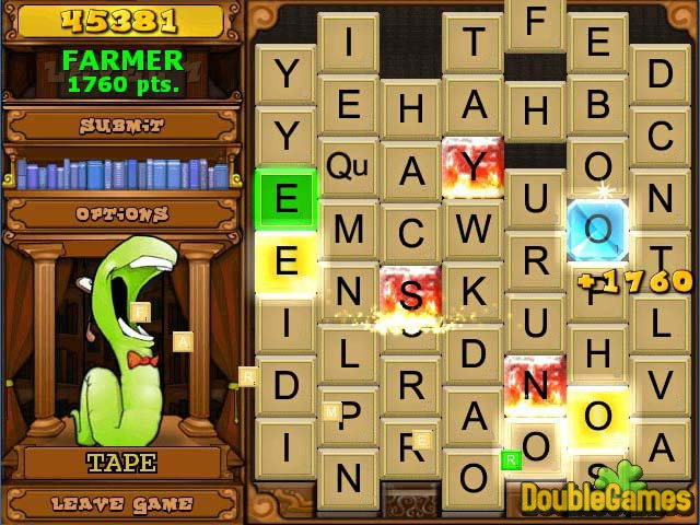 Free Download Bookworm Deluxe Screenshot 1