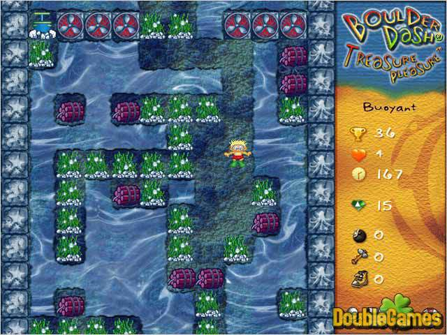 Free Download Boulder Dash Treasure Pleasure Screenshot 1