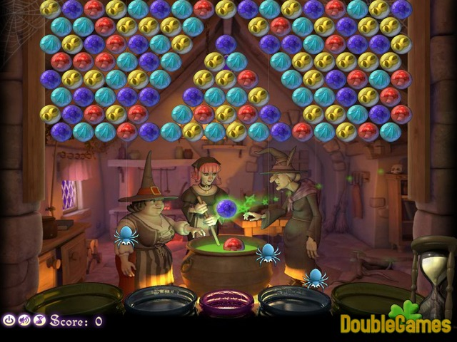 Free Download Bubble Witch Online Screenshot 1