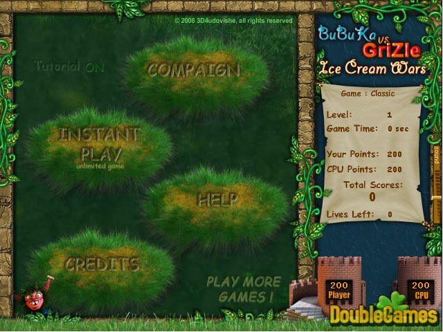 Free Download Bubuka vs Grizle - Ice Cream Wars Screenshot 1