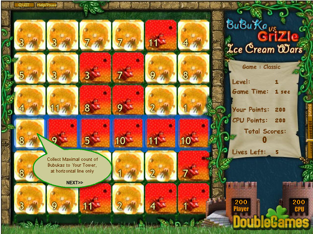 Free Download Bubuka vs Grizle - Ice Cream Wars Screenshot 2