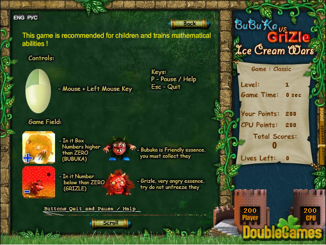 Free Download Bubuka vs Grizle - Ice Cream Wars Screenshot 3