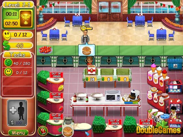 Free Download Burger Bustle: Ellie's Organics Screenshot 1