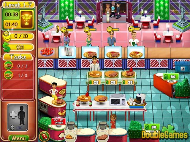 Free Download Burger Bustle: Ellie's Organics Screenshot 2
