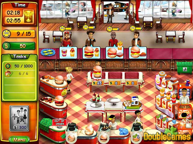 Free Download Burger Bustle Screenshot 1