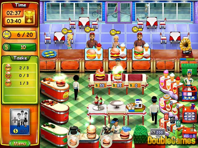 Free Download Burger Bustle Screenshot 2