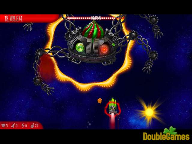 Free Download Chicken Invaders 5: Christmas Edition Screenshot 3