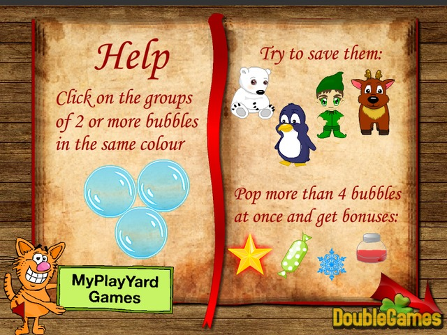 Free Download Christmas Bubbles Screenshot 1