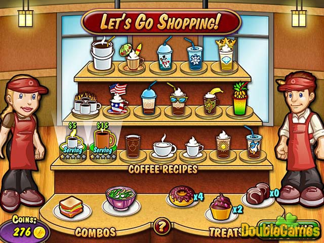 Free Download Coffee Rush Screenshot 1
