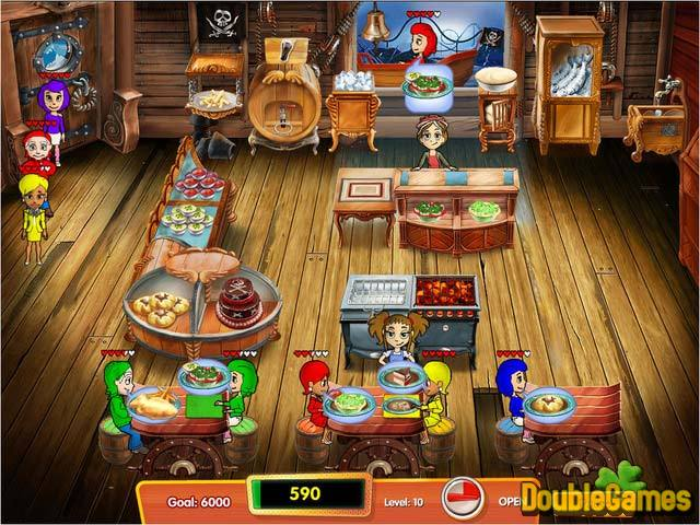 Free Download Cooking Dash 3: Thrills and Spills Collector's Edition Screenshot 1