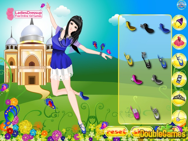 Free Download Dancing Princess Butterfly Screenshot 2
